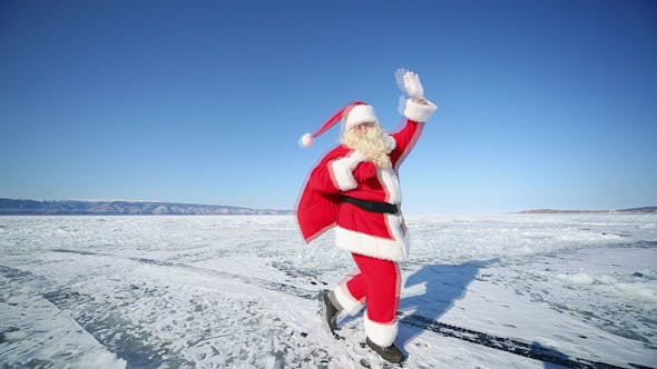 Thumbnail for Travel Santa on Lake Baikal
