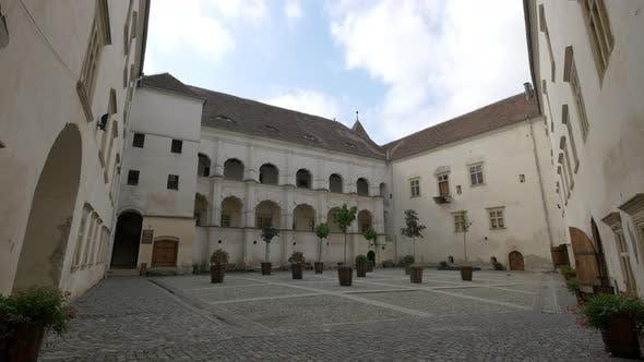 Fagaras Fortress Inner Courtyard