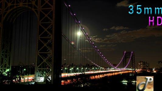 Thumbnail for Washington Bridge On Moonlit night