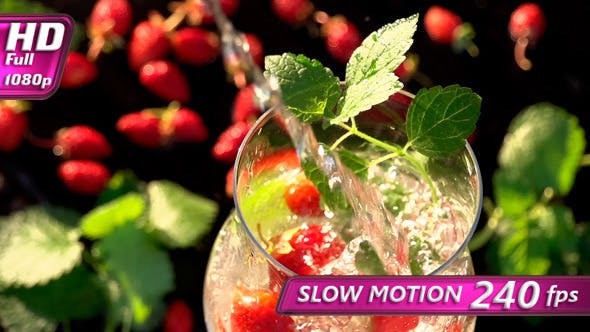 Thumbnail for Soda with Mint and Strawberries