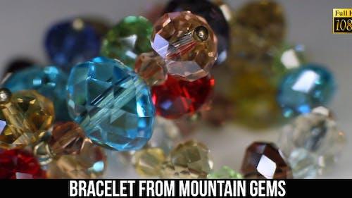 Bracelet From Mountain Gems