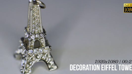 Thumbnail for Decoration Eiffel Tower