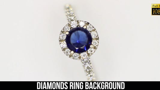 Thumbnail for Diamonds Ring Background 2