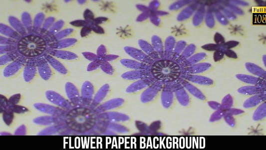 Cover Image for Flower Paper Background