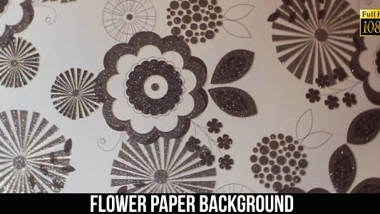 Thumbnail for Flower Paper Background 5