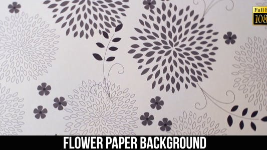 Cover Image for Flower Paper Background 8