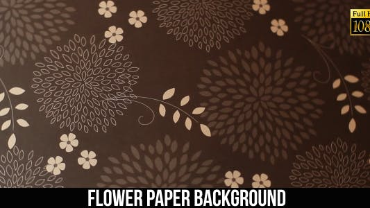 Thumbnail for Flower Paper Background 9