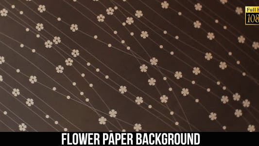 Thumbnail for Flower Paper Background 12