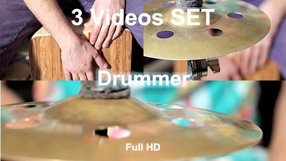 Thumbnail for Drummes Playing At Cajon