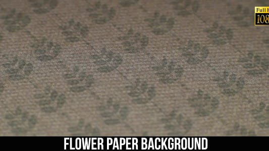 Thumbnail for Flower Paper Background 16