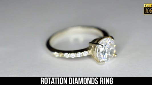 Thumbnail for Rotation Diamonds Ring