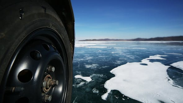 Thumbnail for Drive the Car Across the Frozen Lake Baikal 4