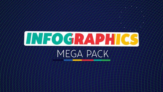 Thumbnail for Infographics Mega Pack
