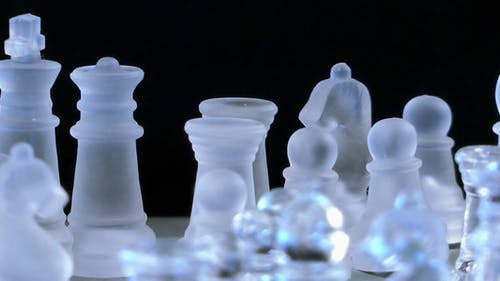 Chess Game From Glass 2