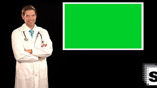 Thumbnail for Doctor Opens A Screen Window