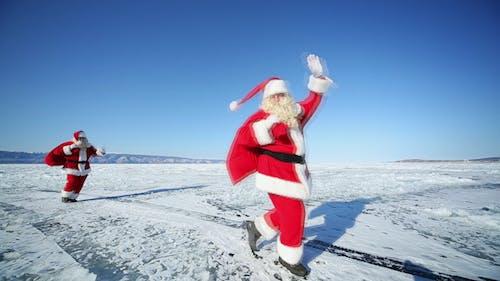Travel Santa on Lake Baikal 3