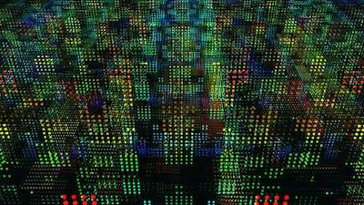 Digital Colored Dots