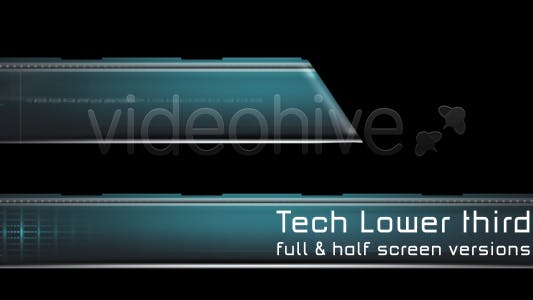 Thumbnail for Tech Lower third - 2 versions
