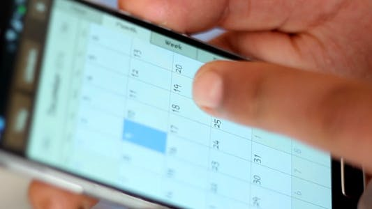 Cover Image for Mobile Phone Calendar