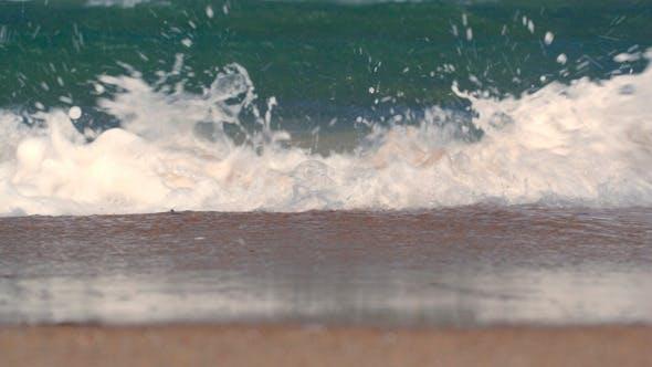 Thumbnail for Sea Waves Washing The Shore