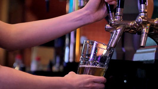 Beer On Tap At The Bar 1