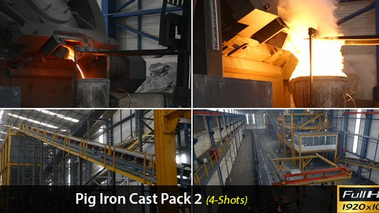 Thumbnail for Pig Iron Cast Pack-2