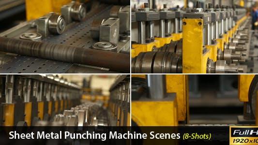 Thumbnail for Sheet Metal Punching Machine Scenes