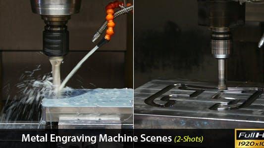 Thumbnail for Metal Engraving Machine Scenes
