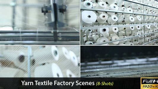 Thumbnail for Yarn Textile Factory Scenes