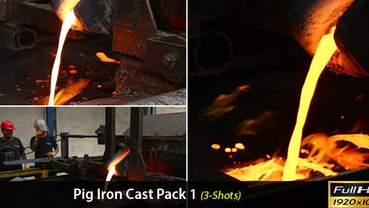 Thumbnail for Pig Iron Cast Pack-1