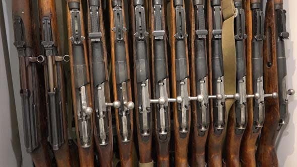 Thumbnail for Armory Room and Mosin Military Rifles