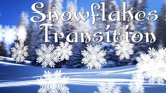 Thumbnail for Snowflakes Transition
