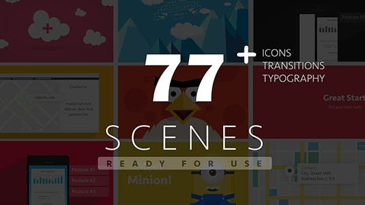 Thumbnail for 77 Ready For Use Scenes