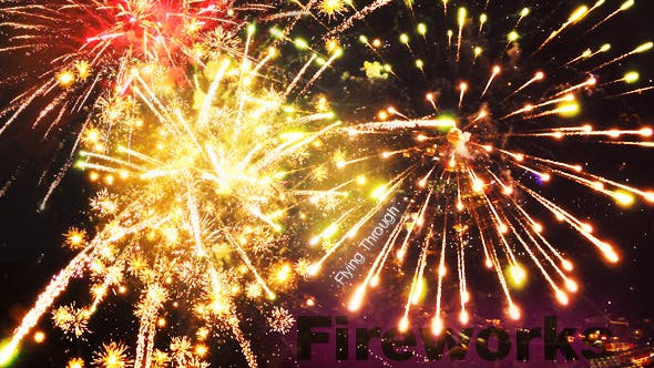 Thumbnail for Flying Through Fireworks