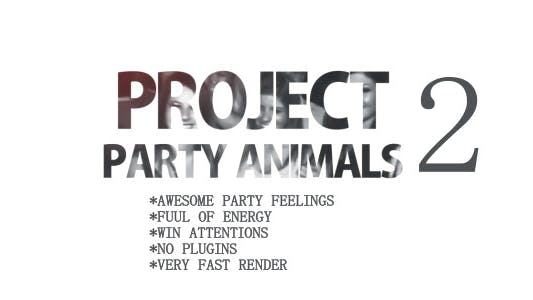 Thumbnail for Projet Party Animaux 2