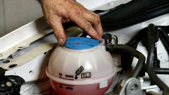 Thumbnail for Car Repair Mechanic Refrigerant Circuit Cap