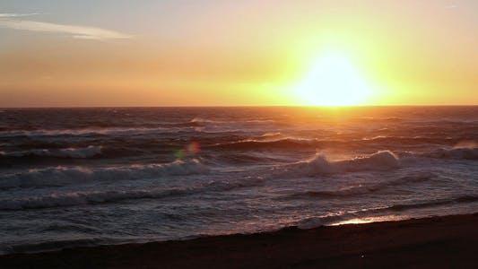 Thumbnail for Sunrise At Mediterranean Beach