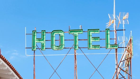 Thumbnail for Sun Overshining Hotel Banner