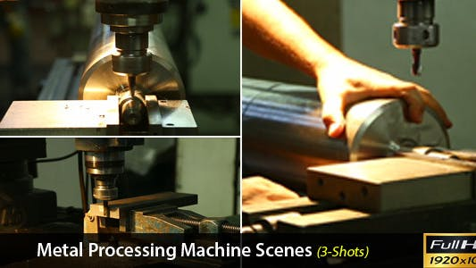 Thumbnail for Metal Processing Machine Scenes