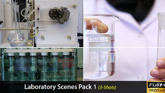 Thumbnail for Laboratory Scenes Pack 1