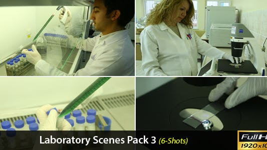 Thumbnail for Laboratory Scenes Pack 3