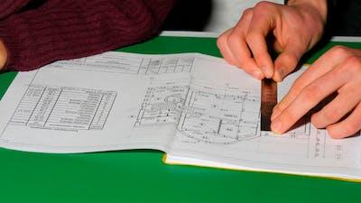 Teens Hands Measuring Tape
