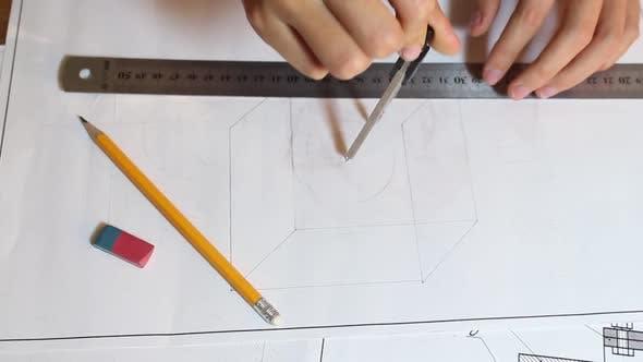 Engineer Draws A Circle