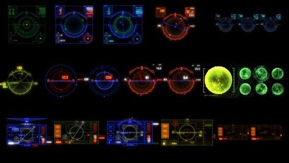 Thumbnail for 17 Air Hud UI Elements