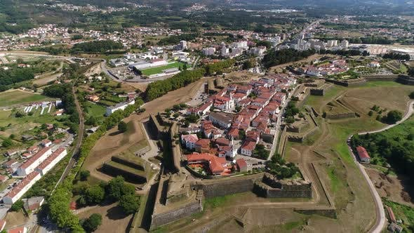 Thumbnail for Aerial Footage of Great Fortress and Ancient City