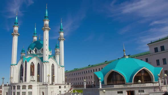 Thumbnail for Kul Sharif Mosque in Kazan Kremlin, Russia