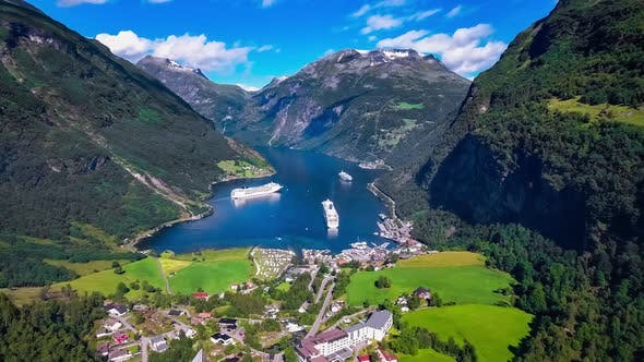 Thumbnail for Geiranger Fjord, Beautiful Nature Norway