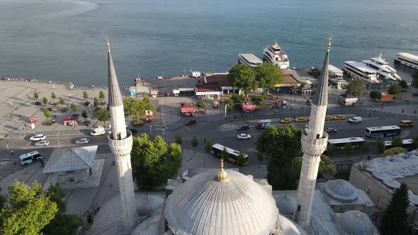Thumbnail for Mihrimah Sultan Mosque at Istanbul of Uskudar