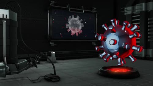 Digital 3D in laboratory virus