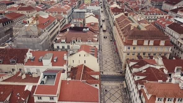 Lisbon From a Bird's Eye View